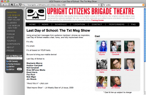 Last Day of School on UCB LA's website