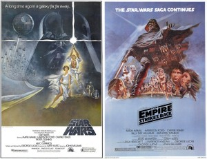 Original posters for Episodes 4 and 5