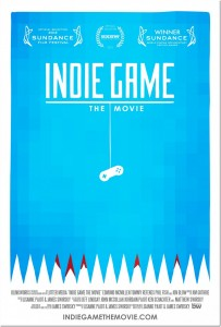 Official poster for Indie Game: The Movie