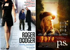 Movie posters for Roger Dodger and P.S.