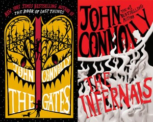 Covers for John Connolly's The Gates and The Infernals