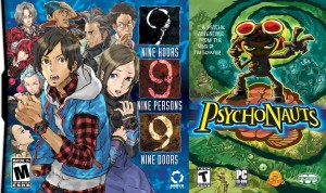 Cover art for 999: 9 Hours, 9 Persons, 9 Doors and Psychonauts