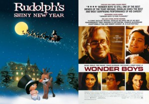 Posters for Rudolph's Shiny New Year and Wonder Boys