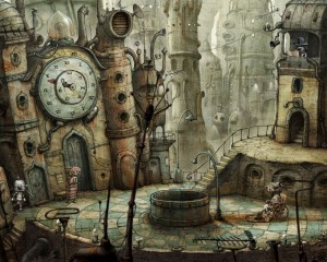 Image from Machinarium