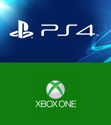 PlayStation 4 and Xbox One logos